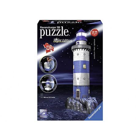 Ravensburger Faro Night Edition 3D Puzzle Con Luci