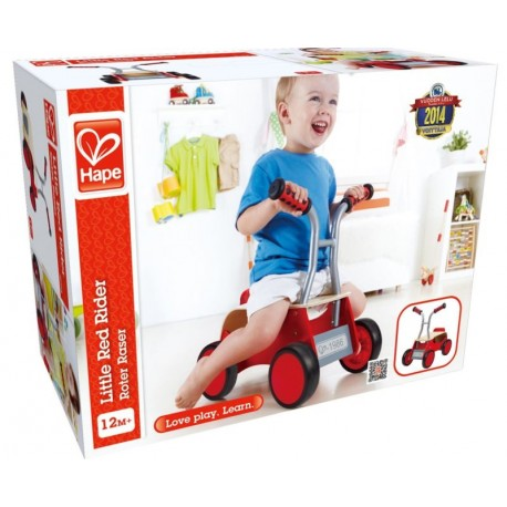Hape Little Red Rider Wooden Cavalcabile