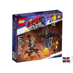LEGO 70836 THE LEGO MOVIE 2 Batman pronto alla battaglia e Barbacciaio