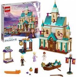 Il villaggio del Castello di Arendelle Lego Frozen 2
