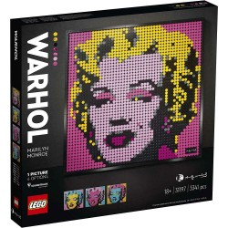 31197 - LEGO ART ANDY WARHOL'S MARILYN MONRO 3341 PEZZI
