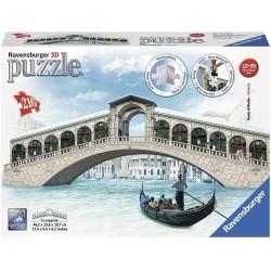 PUZZLE 3D PONTE DI RIALTO VENEZIA RAVENSBURGER RAV12518