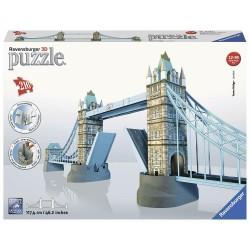 Puzzle 3D London Tower Bridge Ravensburger 216 Pezzi Ponte di Londra