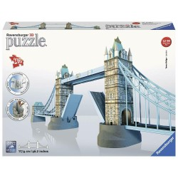 Puzzle 3D London Tower Bridge Ravensburger 216 Pezzi Ponte di Londra