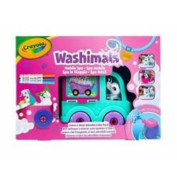 Washimals Pets mobile SPA CAMION, Crayola 74-7372-E-000, colore e lavare