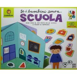 I Bambini sono a Scuola metodo Montessori Ludattica