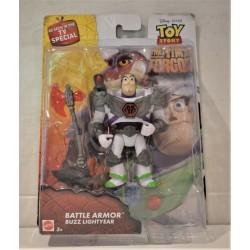 DISNEY Pixar Toy Story Buzz Lightyear Battle Armour figura da MATTEL