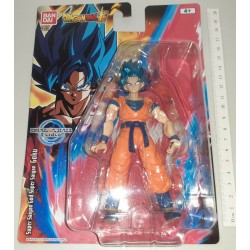 DRAGON BALL SUPER SAIYAN GOKU BLUE ACTION FIGURE FIGURA SNODABILE BANDAI EVOLVE