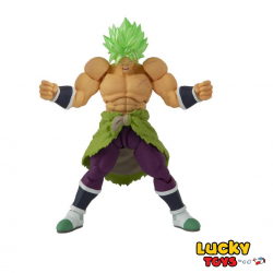 Dragon Ball action figure BROLY SUPER SAIYAN GOLD personaggio 12 cm - Bandai