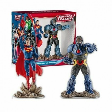 SUPERMAN VS DARKSEID JUSTICE LEAGUE FIGURE - SCHLEICH 22509 DC COMICS