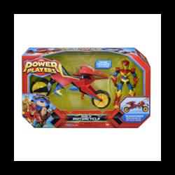 Power Players veicolo + Personaggio Alex con Moto Giochi Preziosi