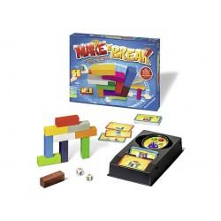 Gioco di società in scatola per bambini adulti Make'n'Break mattoncini carte 8+