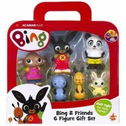 Bing e i Suoi Amici  Giochi Preziosi - 6 personaggi