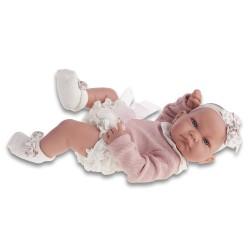 antonio juan bambola recien nacido nica braguita cm 42