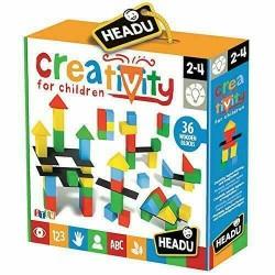 HEADU Creativity for Children, costruzioni modulari in legno età 2-4 anni