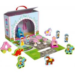 Tooky Toy Scatola di legno principessa