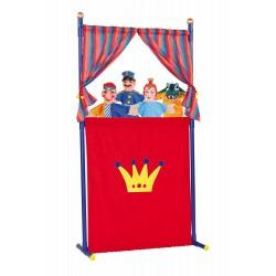 Teatro con 4 Marionette Simba