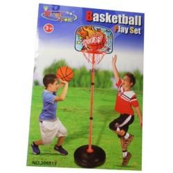 Basket con piantana e palla - altezza massima cm. 122