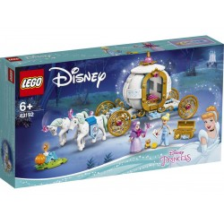 Carrozza Cenerentola Disney Lego