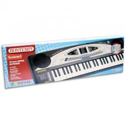Bontempi-Tastiera 49 Tasti Passo Medio DO, B 499.2