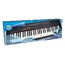 piano - Tastiera con tasti luminosi con lettore mp3 bontempi 6120