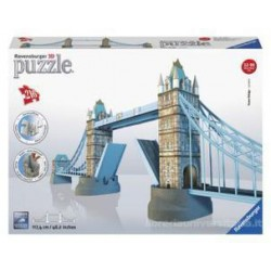 Ravensburger London Tower Bridge Building 3d Puzzle